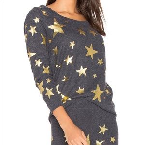 BNWT CHASER Starry Night Top